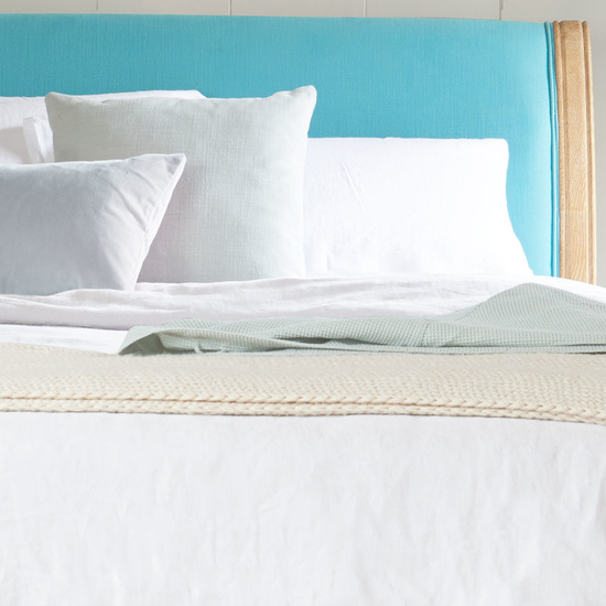 Lazy Cotton bed linen in White