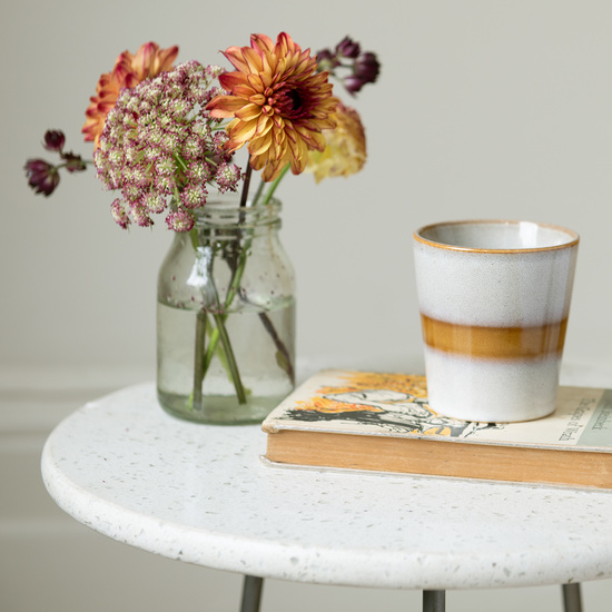 Little Scamp marble top side table