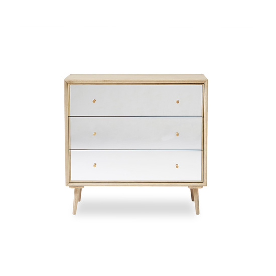 young trixie mirrored chest of drawers