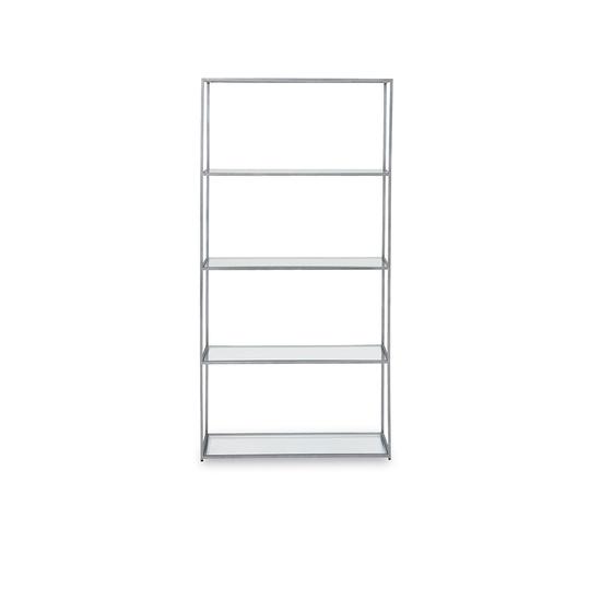 Tall Wolfie glass shelves