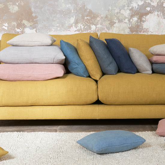 Clever Laundered Linen fabric range