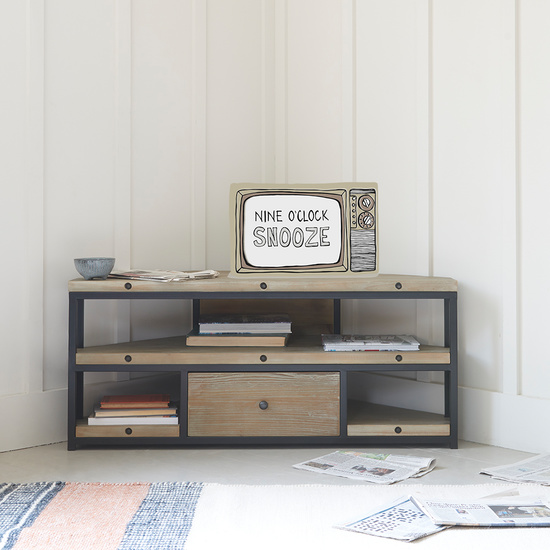 Corner Hercule TV Stand