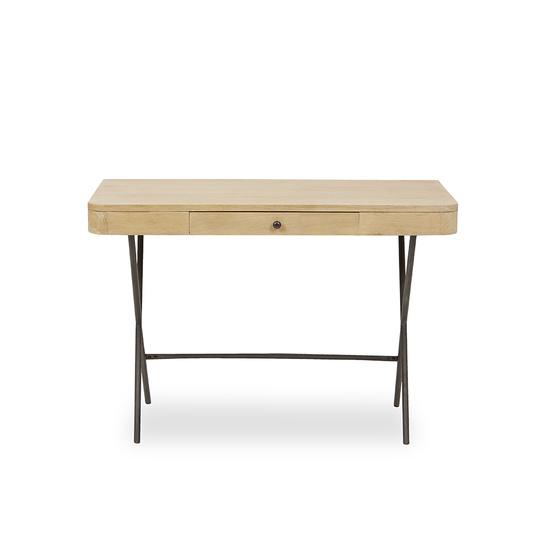 Jotter slim line wooden desk front