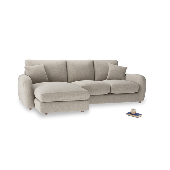 Birch Wool Easy Squeeze LA LH Chaise