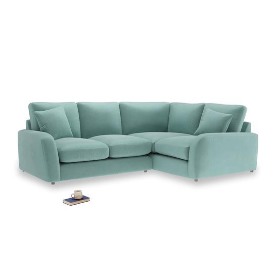 Greeny Blue Clever Deep Velvet Easy Squeeze LA LH Corner
