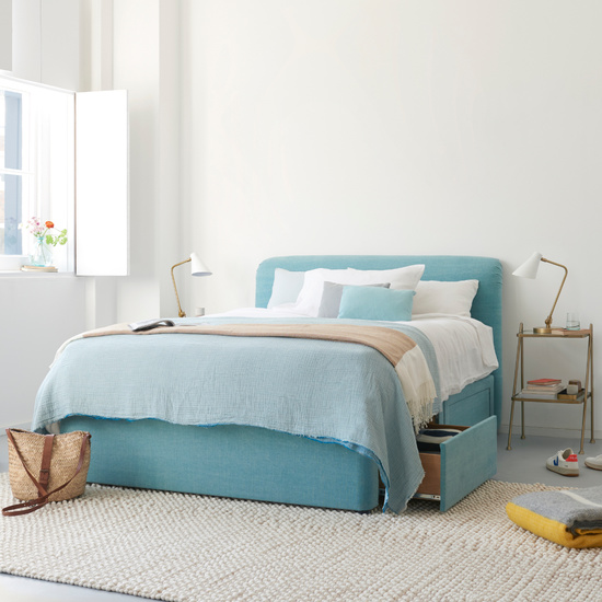 Cookie comfy upholstered headboard