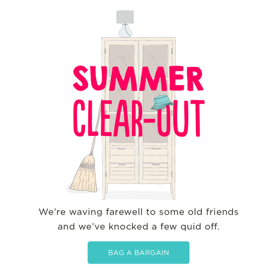 We're having a clear-out!