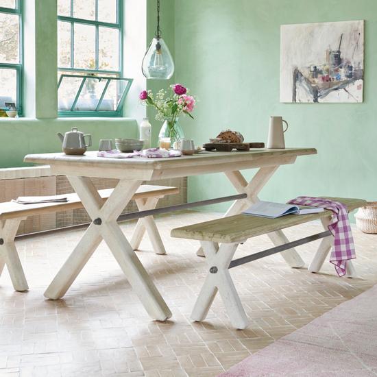 Scoff Wooden Kitchen Bench