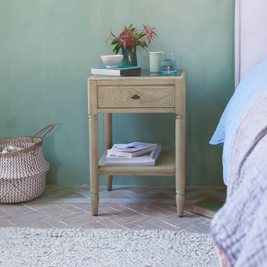 Albertine French Style Bedside Table