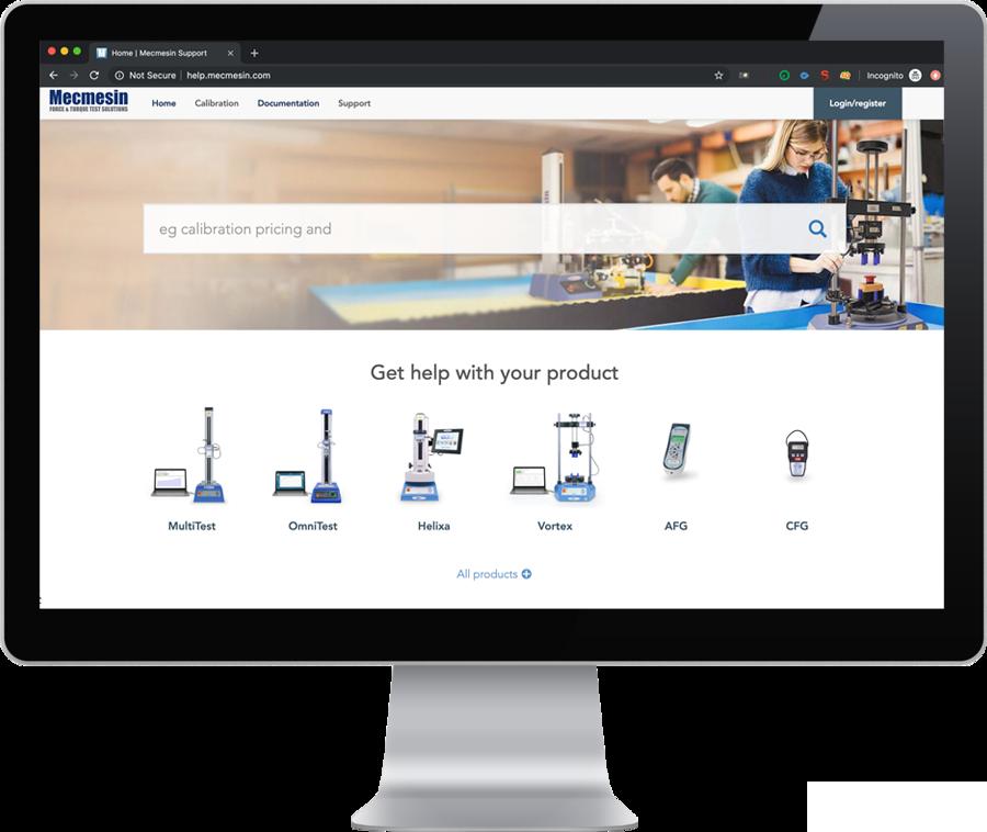 Mecmesin | Help - Technischer Support und Wissenscenter