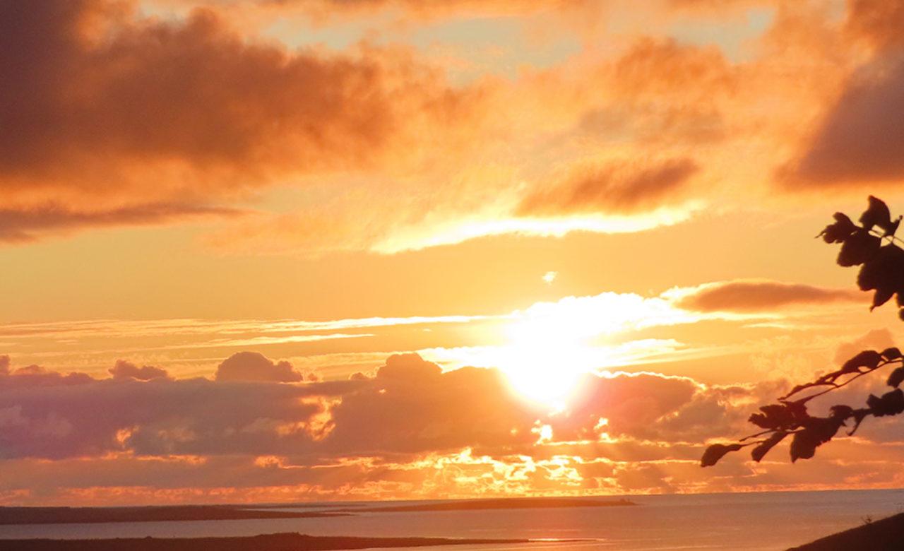 Orkney Sunset Boreray