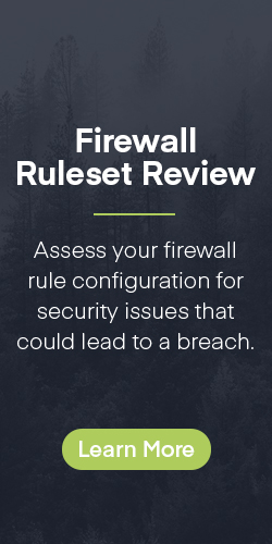 Firewall Ruleset Review