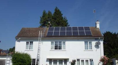solar panels on house | Bird proofing Solar Panels