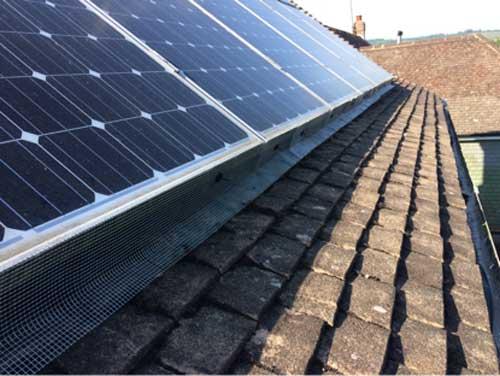 Bird Proofing Solar Panels in Tonbridge | Pest Control Tonbridge