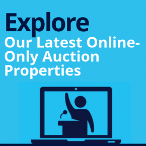 """Explore Our Latest Online-Only Auction Properties"""""""
