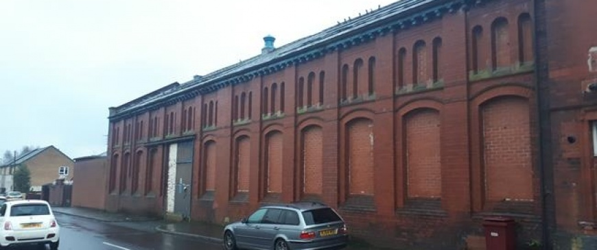 Farnworth former substation up for auction