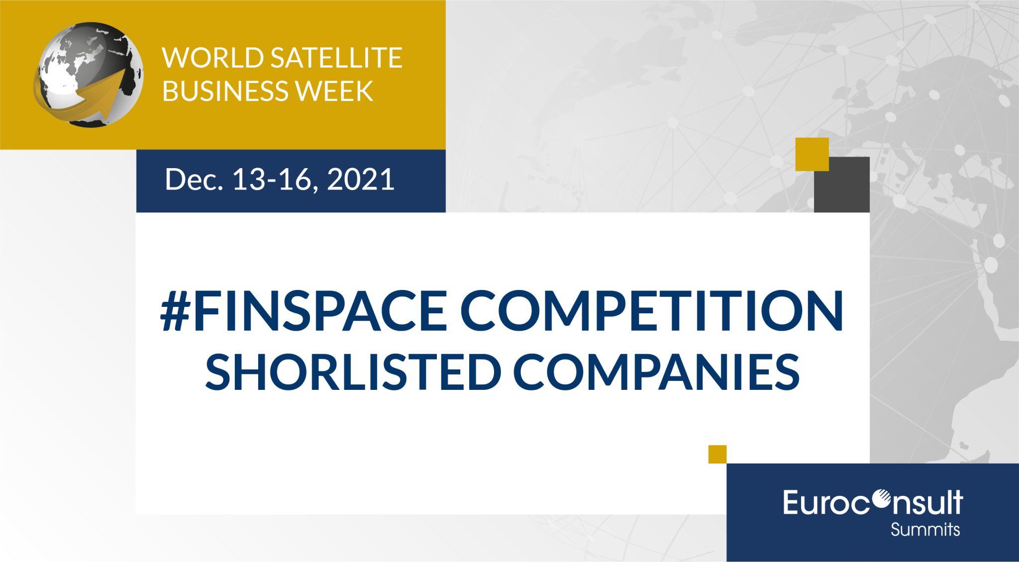 R3-IoT finalist in World Satellite Business Week Finspace awards