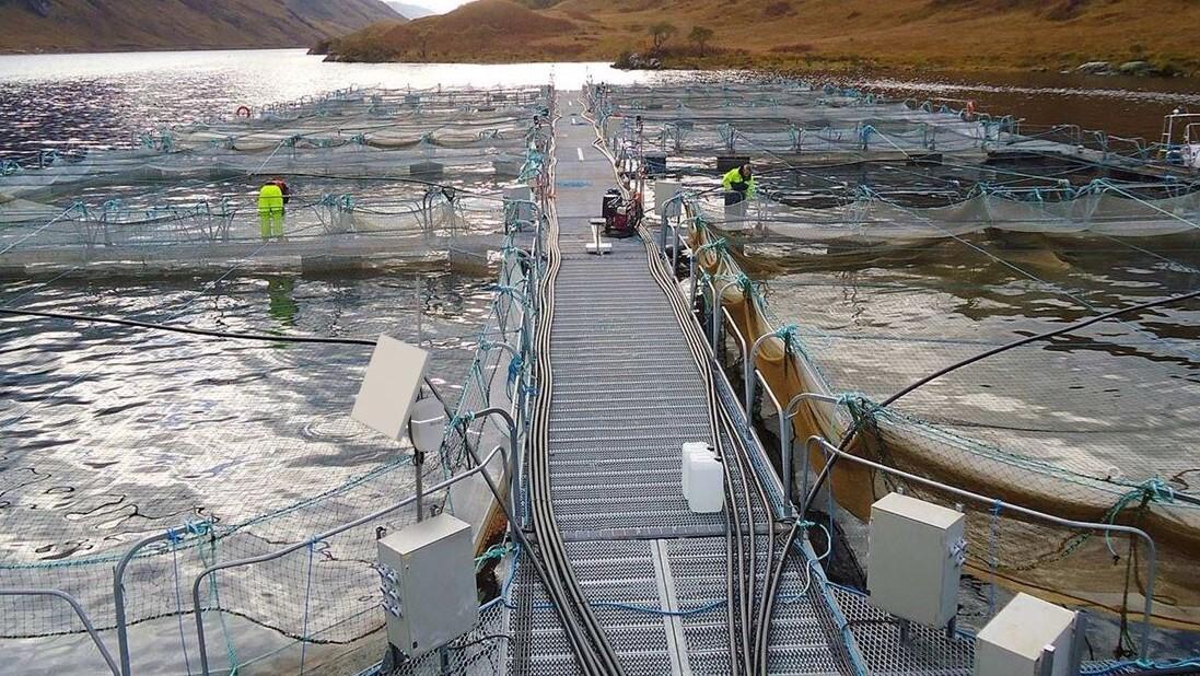 Aquaculture site