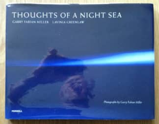 the photography book cover of Thoughts of a Night Sea by Garry Fabian Miller and Lavinia Greenlaw. In dust jacketed hardcover.