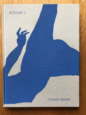 The photographic book cover of Roxane II by Viviane Sassen. In Hardcover.
