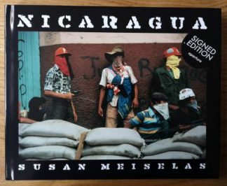The photography book cover of Nicaragua by Susan Meiselas. Hardback.