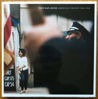 The photography book cover of American Colour 1962-1965 by Tony Ray-Jones. In hardcover.