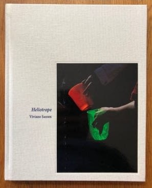 The photographic book cover of Heliotrope by Viviane Sassen. In hardcover.