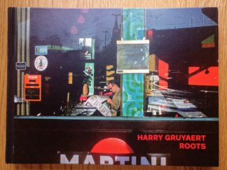 This is the cover of Roots by Harry Gruyaert with a Martini sign on the cover