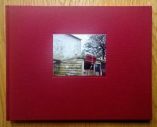 The photography book cover of The Moth by Jem Southam. Hardback red.