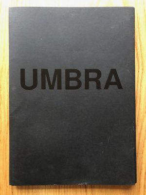 The photography book cover of umbra by viviane sassen. paperback.