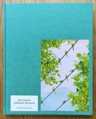 The photography book cover of Des Oiseaux by Yoshinori Mizutani
