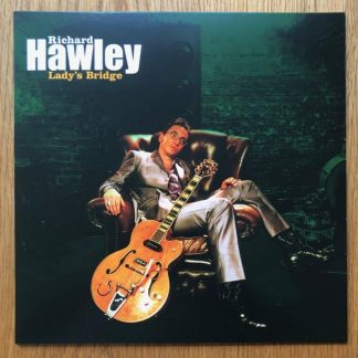 The music vinyl of Lady's Bridge by Richard Hawley. In transparent green.