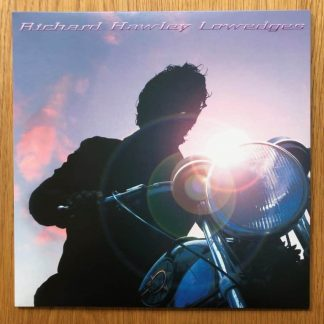 The music vinyl of Lowedges by Richard Hawley. In clear vinyl.