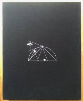 The photography book cover of Tent Camera by Abbelardo Morell. In slipcased hardcover black.