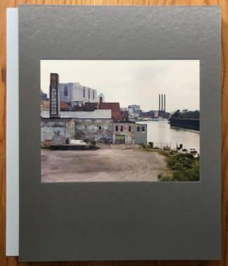 The photography book cover of Rust Belt by Jack Teemer. In slipcased hardcover grey.