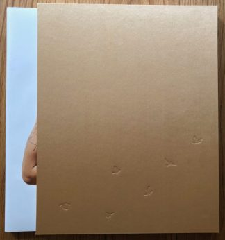 The photography book cover of Hundreds of Sparrows - Volume One by Katy Grannan. In slipcased hardcover gold.