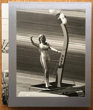 The photography book cover of Nitro by Steve Banks. In slipcased hardcover silver.