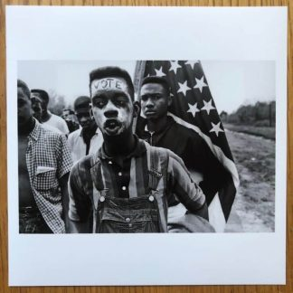The Magnum Square Print of Alabama USA 1965 by Bruce Davidson. Signed by verso.