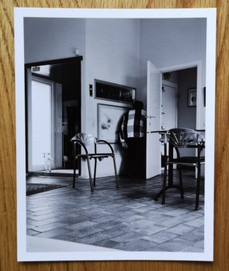 The photographic print with the photo book Safe House by Lea Thijs. In black and white.