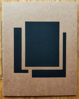 The photography book cover of Sketches by Viviane Sassen . In softcover brown with three polaroids in black.