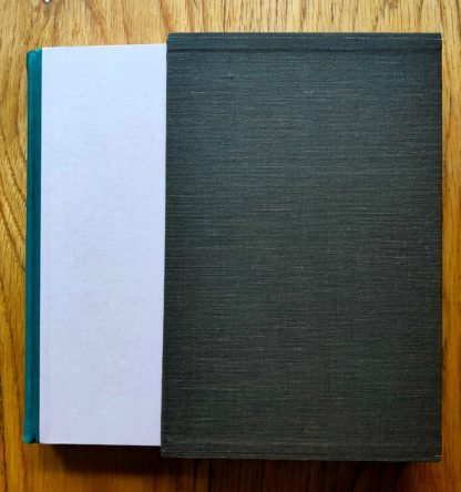 The book cover of Girl by Edna O'Brien. Special edition. Hardcover light purple and green in a slipcase.