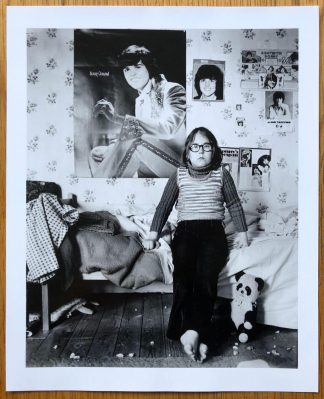 The limited edition print of The Portraits with a Limited Edition Print by John Myers. With a child in its room.