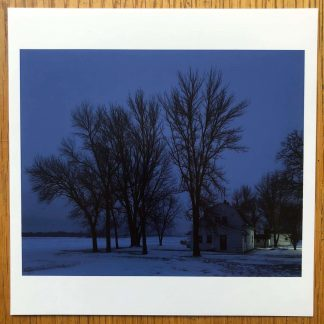 The Magnum Square Print of Cambridge Minnesota 2017 by Alec Soth. Signed by verso.
