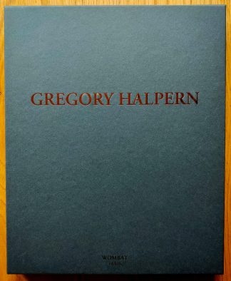 The limited edition photography box of Gregory Halpern: Wombat No. 40 Art Box by Gregory Halpern. In hardcover dark grey.