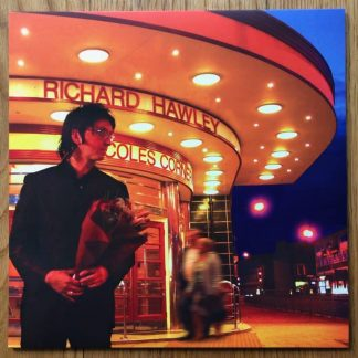 The music vinyl of Coles Corner - Red Vinyl by Richard Hawley. In transparent red.