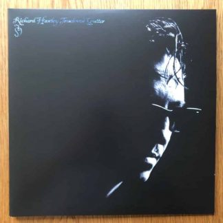 The music vinyl of Truelove's Gutter - Red Vinyl by Richard Hawley. In transparent red.