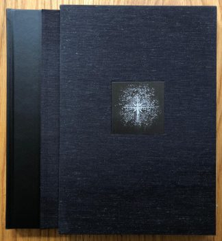 The photography book cover of Mont St. Michel by Michael Kenna. In slipcased hardcover black.