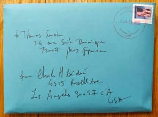 The photography limited edition set of 24 prints of LA Lockdown by Charles-Henry Bedue. In an envelope.