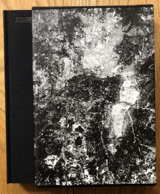 The photography book cover of The Map by Kikuji Kawada. In slipcased hardcover black.