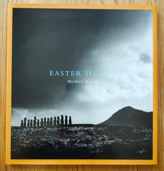The photography book cover of Easter Island by Michael Kenna. In slipcased hardcover.